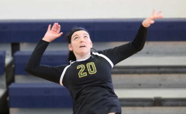 Lauren Moelbert led Keuka College with 11 kills on Saturday