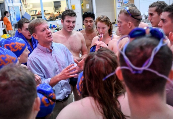 Westkott Named NEWMAC Men's Swim Coach of the Year for Third Straight Season