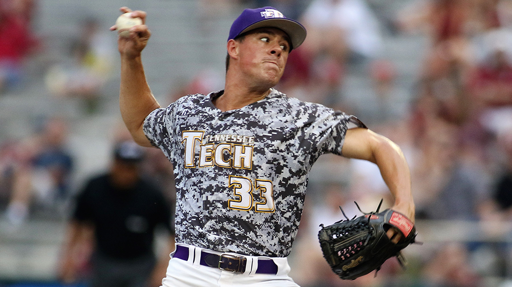 Tech claims season-opening victory over Little Rock behind power pitching, bats
