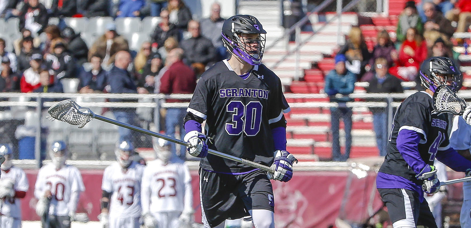 Senior defender Sean Ebert had three ground balls in the Royals' loss at Cortland State on Wednesday.