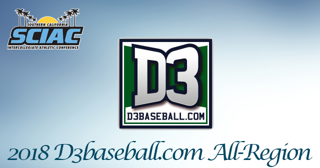 11 SCIAC Baseball Players Earn D3baseball.com All-Region Honors