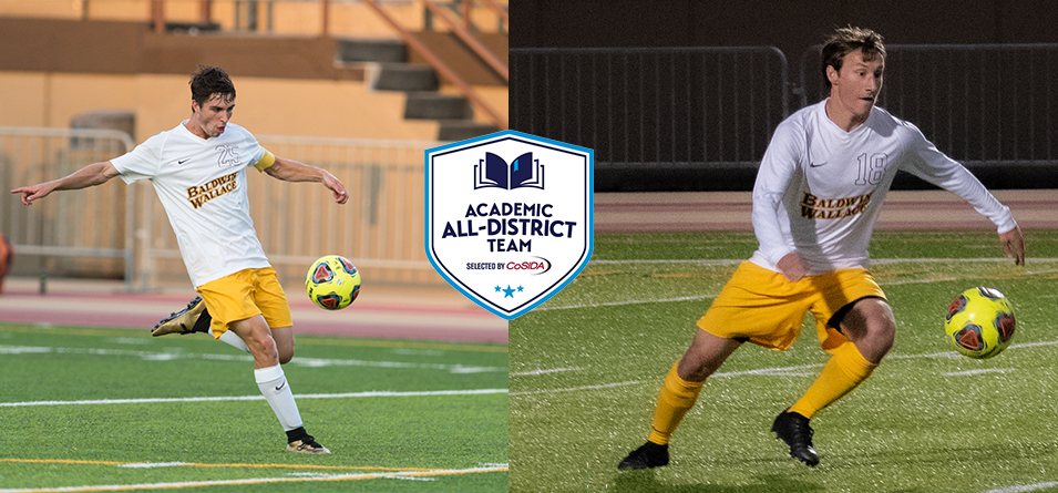Geither and Ruple Named to CoSIDA Academic All-District 7 Team