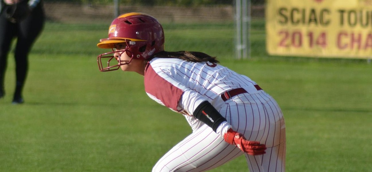 Natalie Dale helped manufacture the first run of the nightcap with her speed on the bases