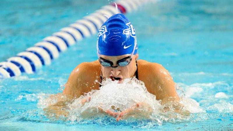 Swim & Dive Completes Tri Meet at Home