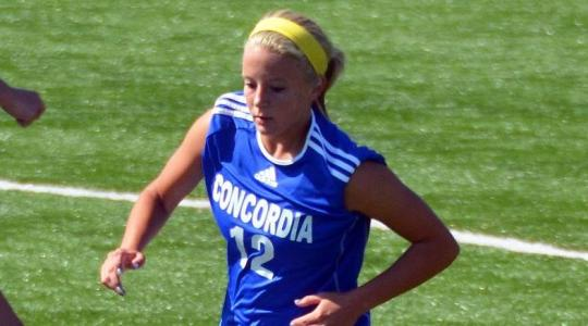Falcons whitewash Marian in women's soccer