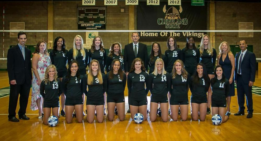 Volleyball Captures Horizon League Regular Season Title With 3-1 Win At UIC