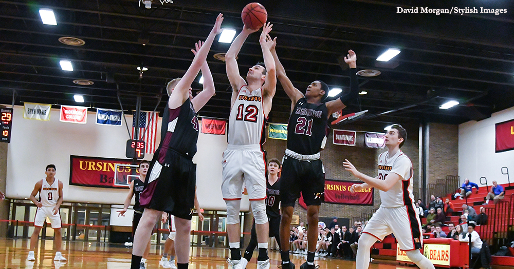 Men's Basketball Rolls Past Shoremen