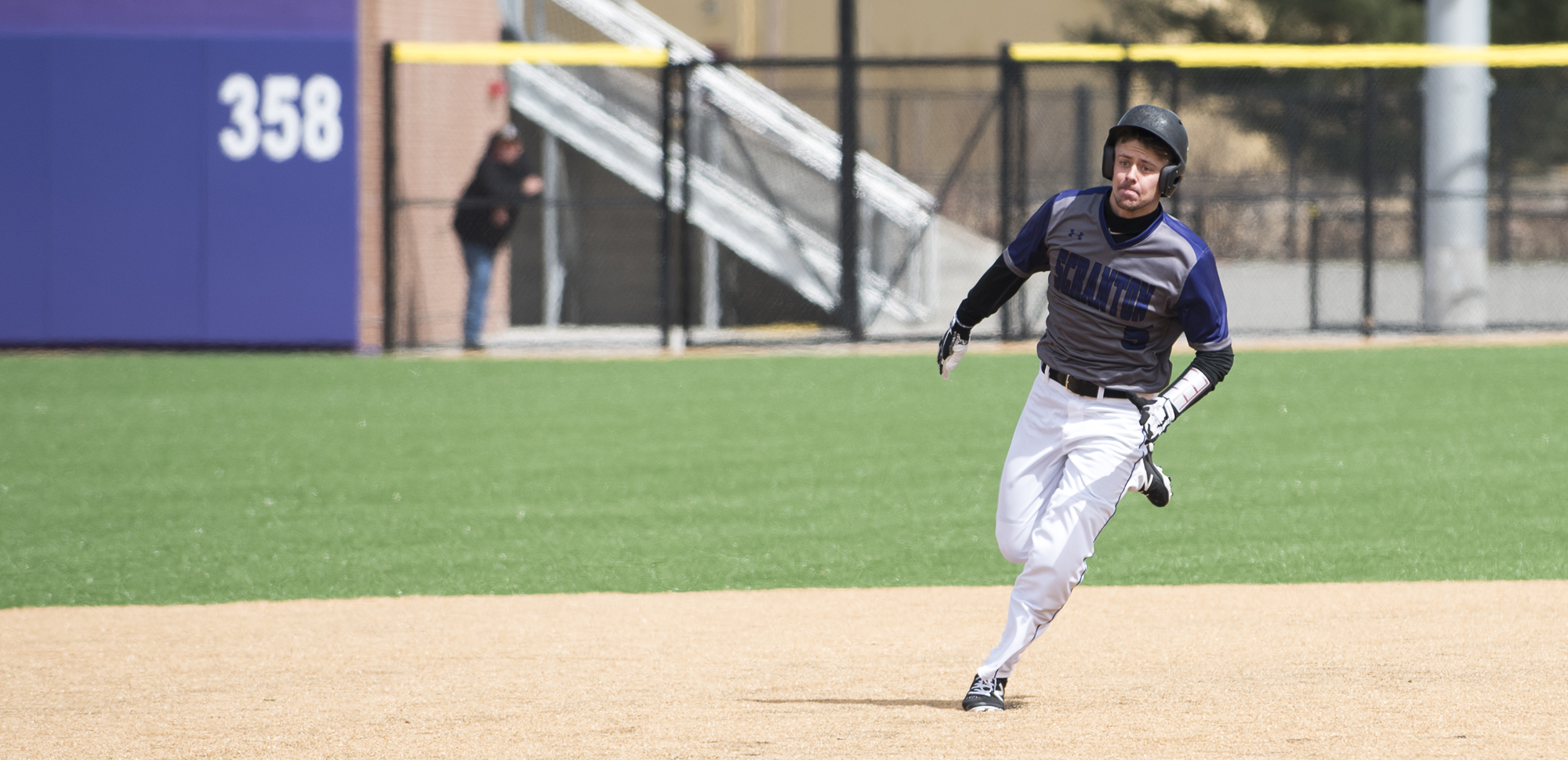 Senior second baseman Brad Schneider went 9-for-16 with three doubles in four playoff games over the weekend.