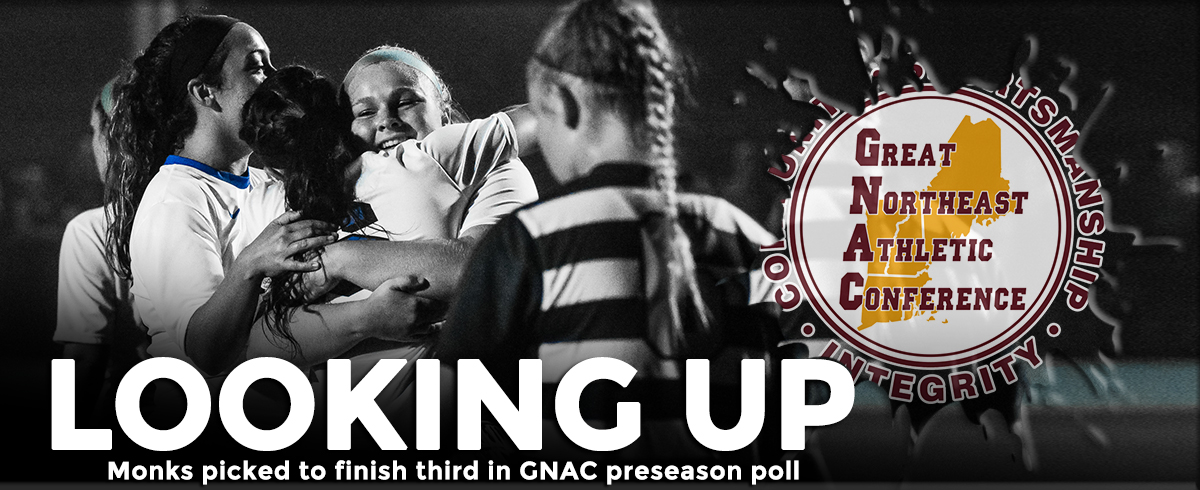 Monks Picked to Finish Third in GNAC Preseason Poll