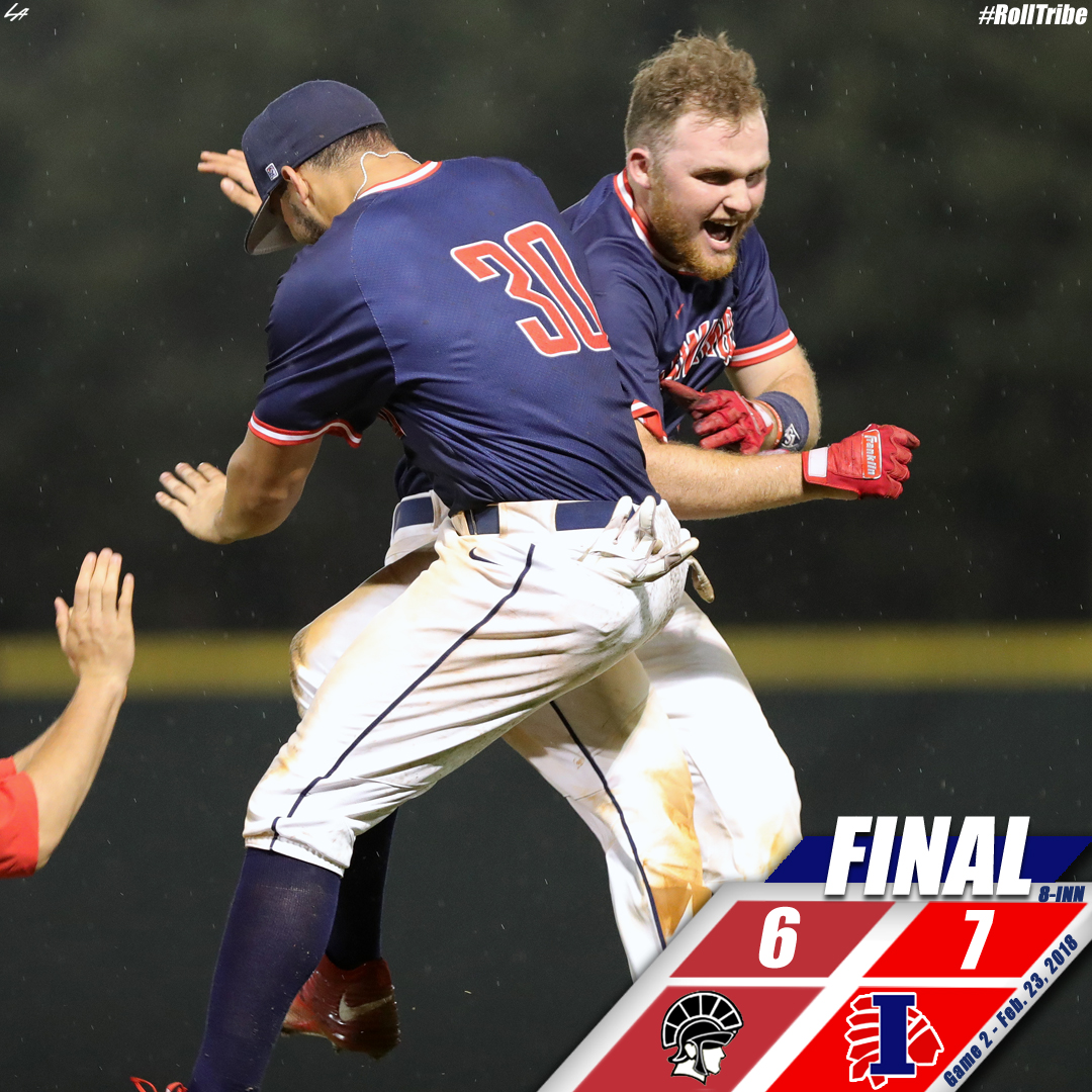 Nabors' second walk-off helps Indians sweep Delta in extra innings, 7-6