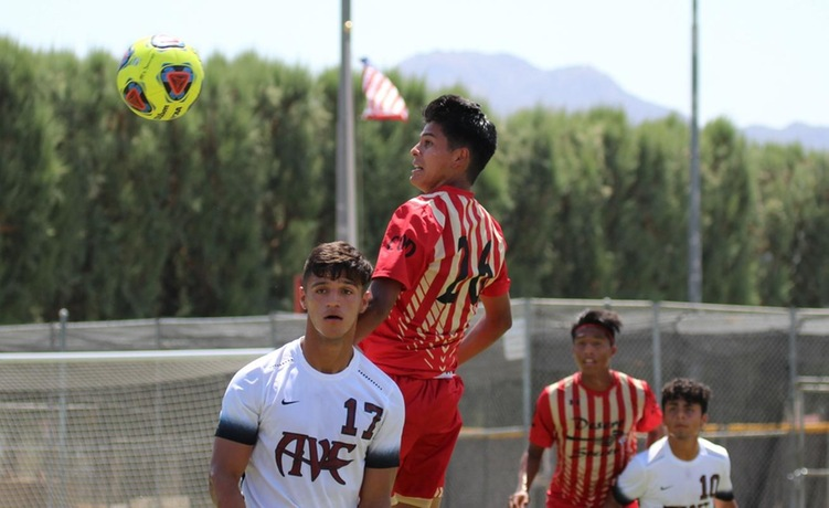 COD Men's Soccer fights hard in the heat, falls to Marauders, 3-1
