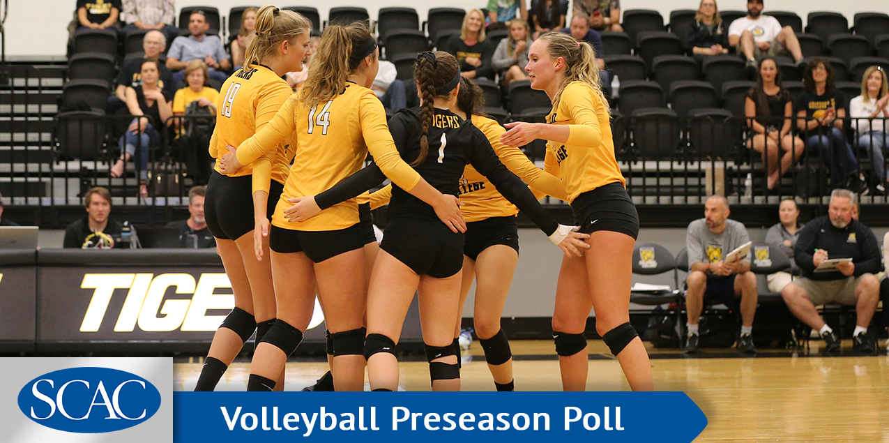 Colorado College Volleyball Tabbed Favorites in 2018 SCAC Coaches' Poll