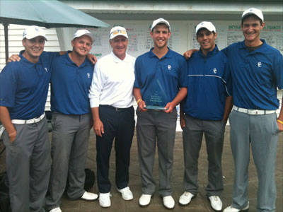Josephson and Men's Golf Sweep CCSU Fall Invitational at Wethersfield Country Club