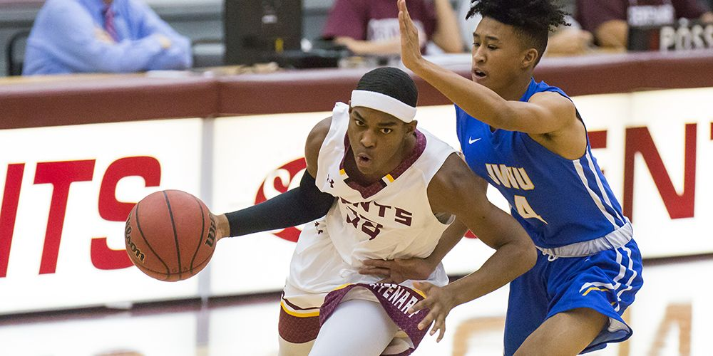 Gents Blow by Trinity in Second Half for 63-44 Win