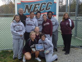 Wildcats Fall to Becker in Tennis Championships: Bay Path Finish Runners Up