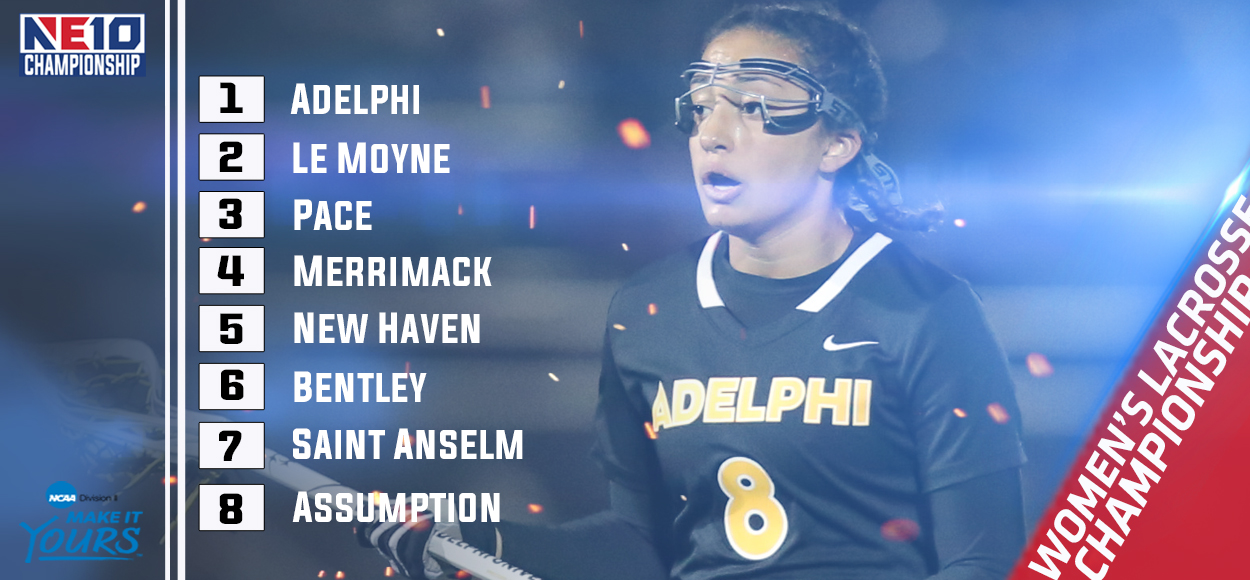 Embrace The Championship: Adelphi Earns Top Seed in Upcoming NE10 Women's Lacrosse Championship