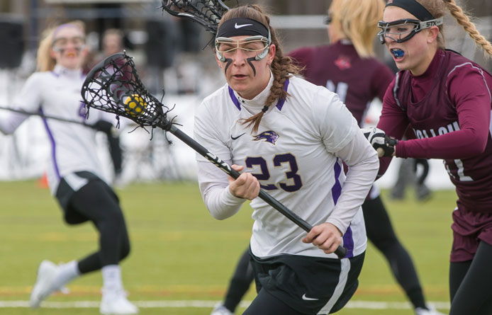 Second-Half Run Catapults Women's Lacrosse Past Saint Thomas Aquinas in Opener