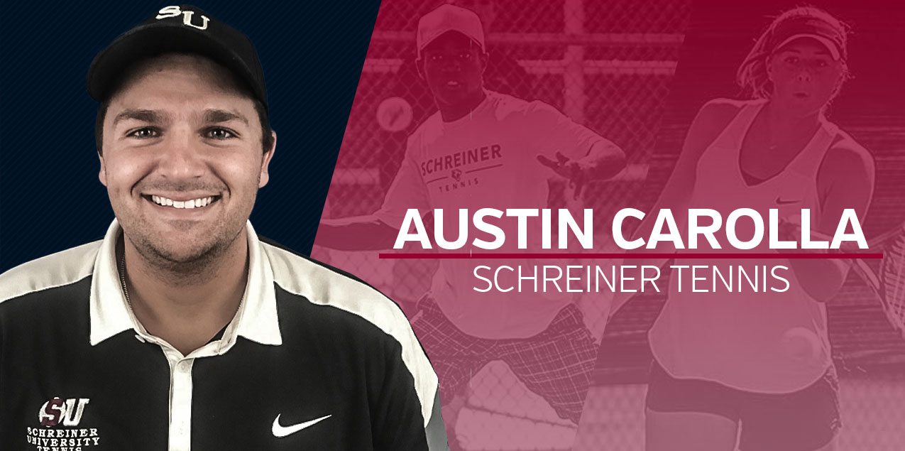 Austin Carrola Named Schreiner Men's and Women's Tennis Head Coach