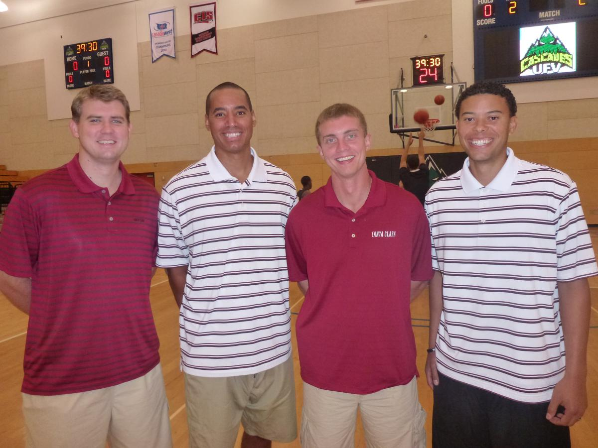 Bronco Basketball Assistant Coaches Work As Head Coach For A Day On Foreign Tour