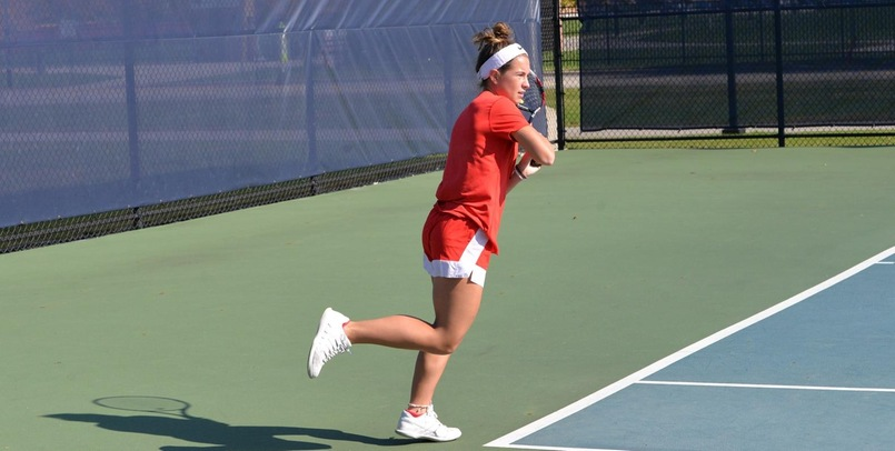 SVSU Tennis drops close match to Christian Brothers