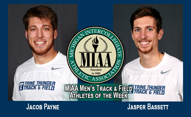 Bassett and Payne Named MIAA Track & Field Athletes of the Week