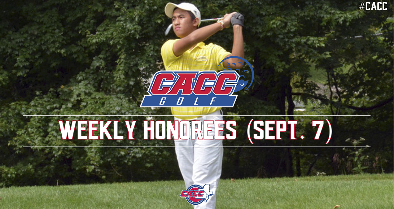 CACC Golf Weekly Honorees (Sept. 7)