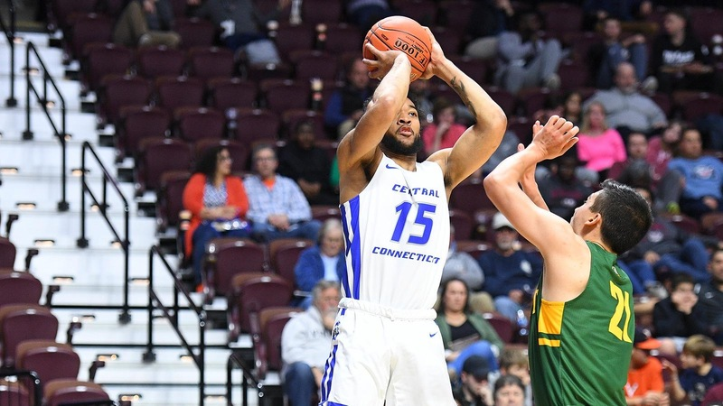 Men's Basketball Falls Short at UMass Lowell, 73-71