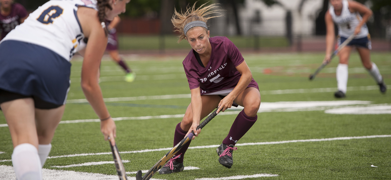 Late Surge Lifts Field Hockey Past Western New England, 5-3