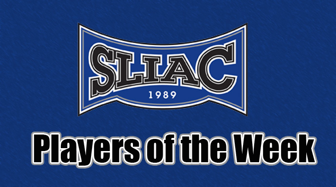 SLIAC Players of the Week - September 26