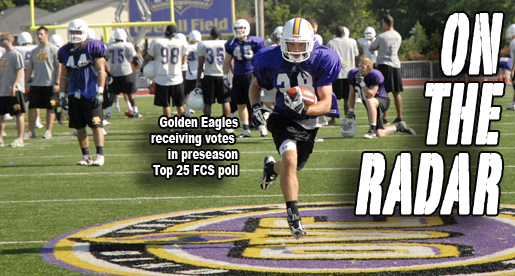 Golden Eagles receiving votes in preseason Sports Network FCS poll