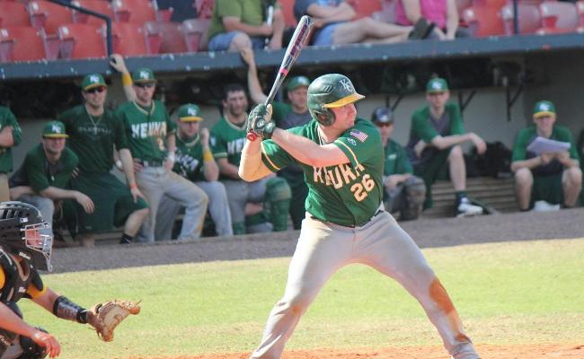 Senior Jon Borchert drove in two runs in game two, but Keuka College's baseball team was swept by Houghton College Monday afternoon.