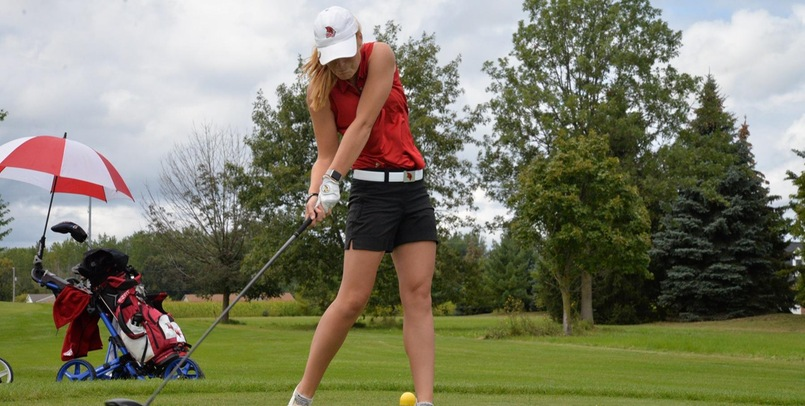 Lady Cardinals 5th after Round One of SVSU Fall Invite