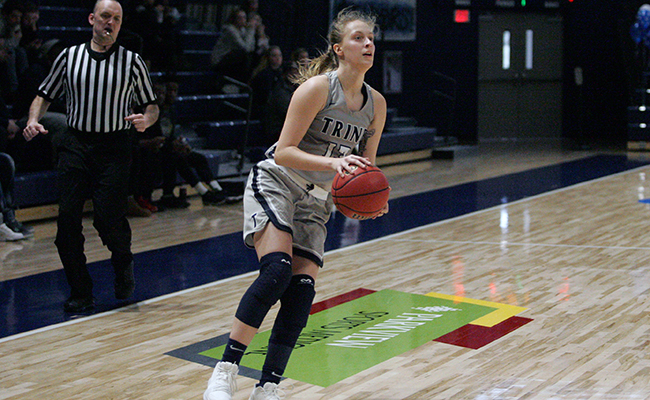 Women's Basketball Edged By DePauw