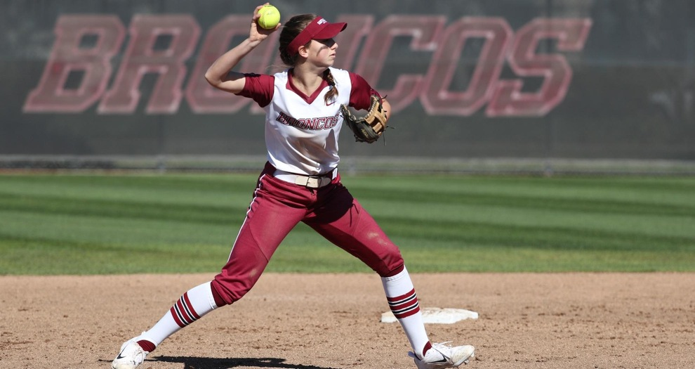 Softball Topped by Cal in Weekend Finale