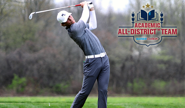 Wilmington Golf's Andreas Lunding Named CoSIDA Division II Academic All-District I Men's At-Large
