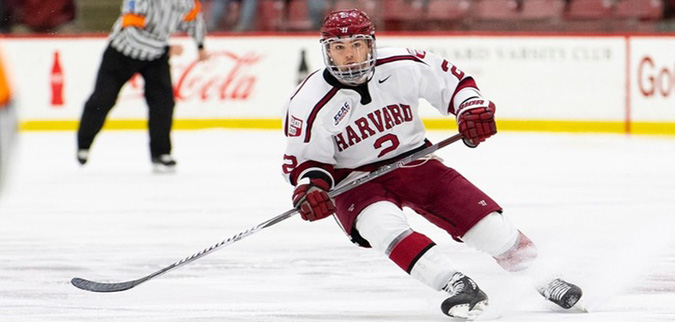 Harvard rallies from early deficit, downs Brown