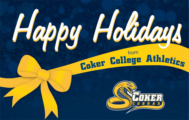 Happy Holidays from the Coker Cobras