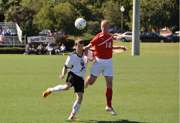 Men's Soccer: Panthers down Tennessee Temple 2-0