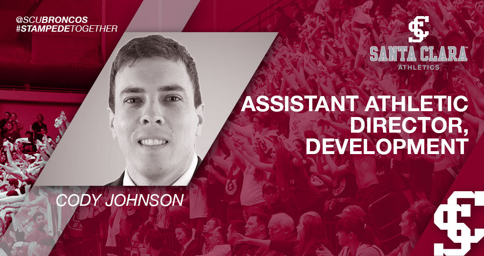 Santa Clara Athletics Adds Cody Johnson as Assistant Athletic Director, Development