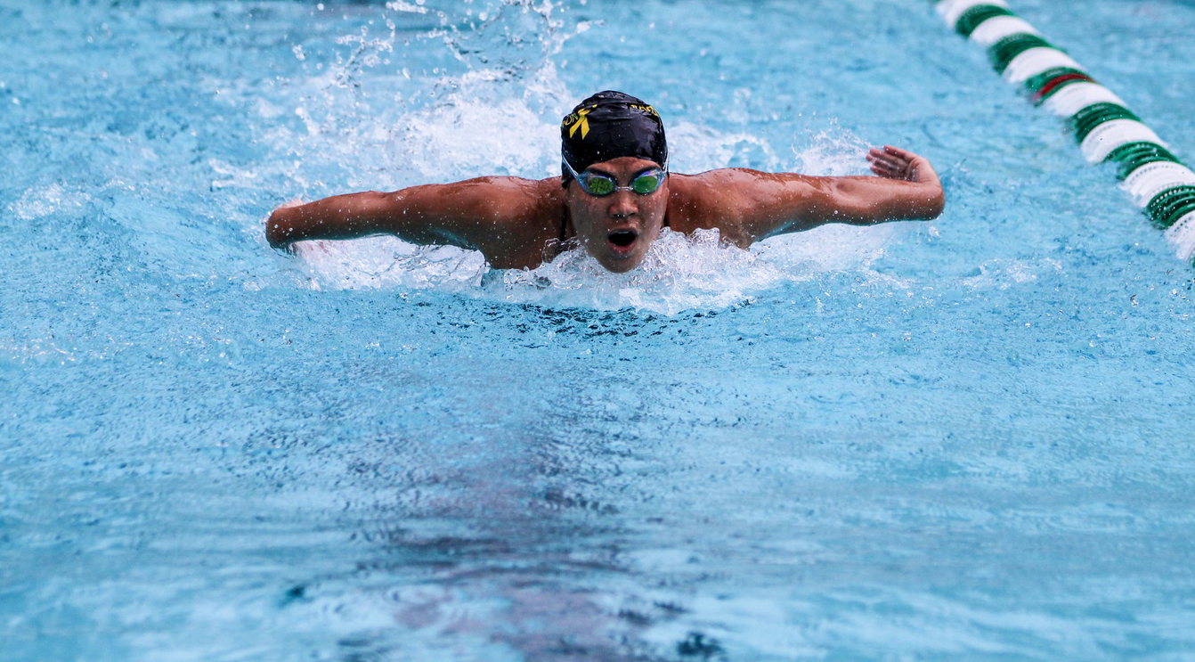 Swim and Dive competes at Axelrod