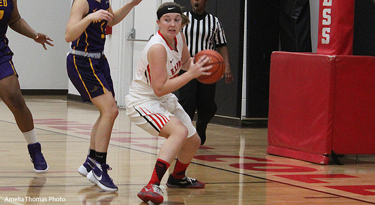 Hot-shooting Nazareth Defeats Wells Women's Basketball