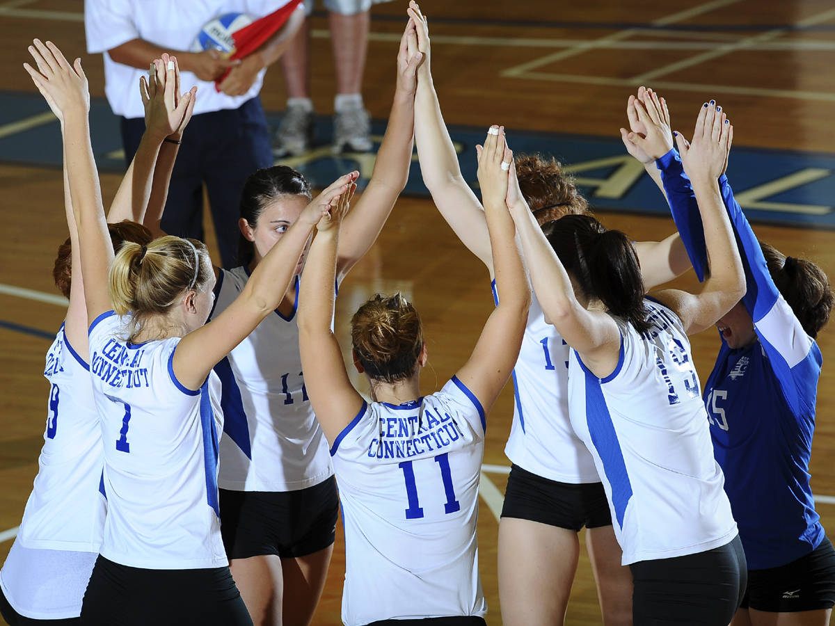 CCSU Volleyball Earns Academic Award for the Fourth Straight Season