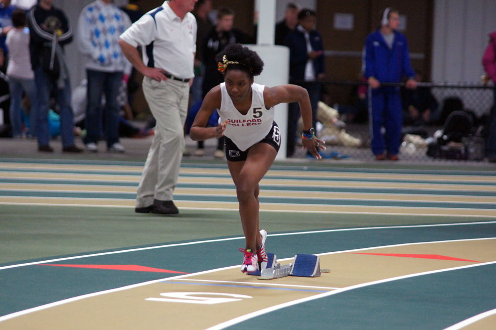 Women's Track Competes at the ODAC Championships