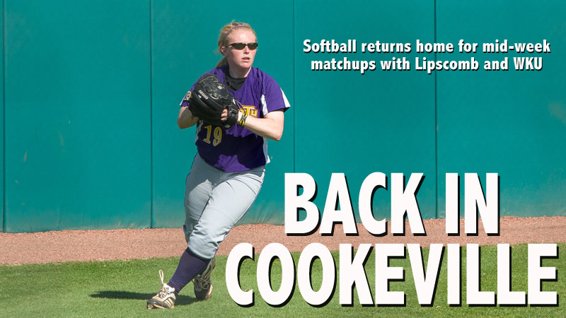 Softball back home for mid-week matchups with Lipscomb and Western Kentucky