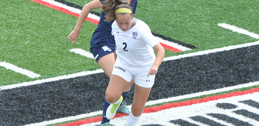 Camyren Antu scored the game-winning goal in a 1-0 win against Westminster College Saturday.
