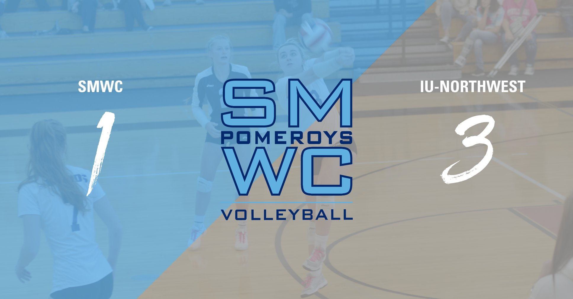 Pomeroys Fall in 4 Sets to IU-NW; Prep for Quad Tournament on 25-26th