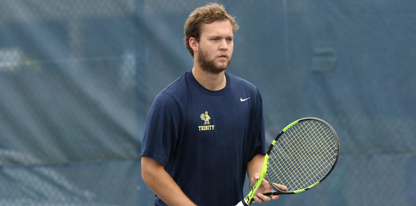 Trinity Men's Tennis Nets First Win Of The Season At Coast Guard