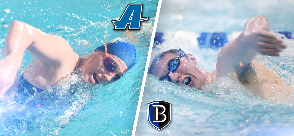 Assumption Women, Bentley Men Tabbed to Take Home Hardware at Upcoming NE10 Swimming & Diving Championships