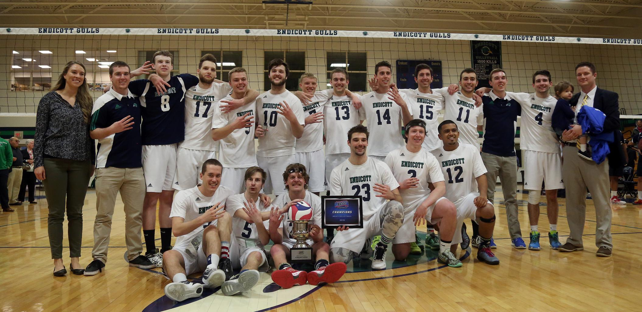 #1 Endicott Completes The Four-Peat Vs. #3 Daniel Webster in Men's Volleyball