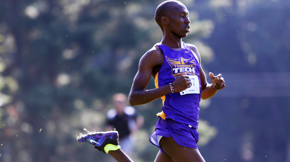 Golden Eagle men and women's cross country finish first at Azalea City Classic